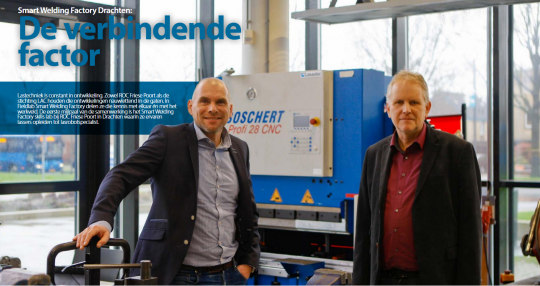 Ondernemend Friesland: Smart Welding Factory Drachten